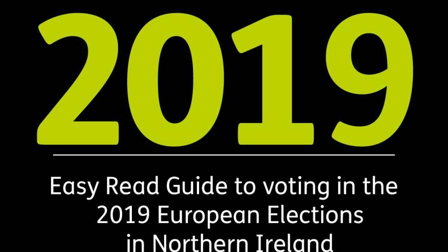 Easy Read Guide to Voting 2019