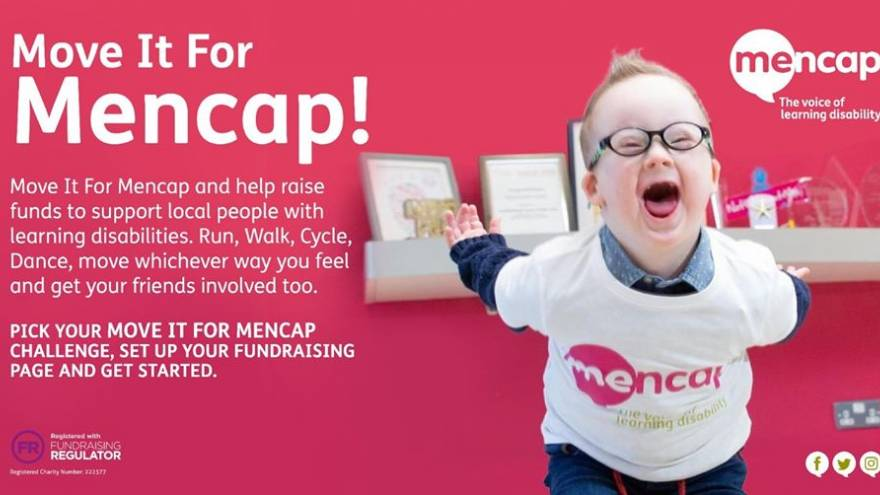 Odhran Move It 4 Mencap